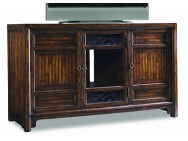 Legends home entertainment furniture is featured in four different veneers scored to look like solids in an Asian antique look that is a decorators dream.