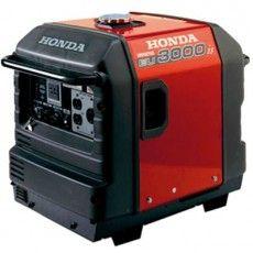 Honda EU3000is 3,000 Watt Inverter Generator Side View