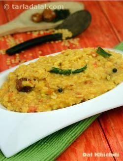 Dal Khichdi recipe | Dal Khichdi Video | by Tarla Dalal | Tarladalal.com | #39570