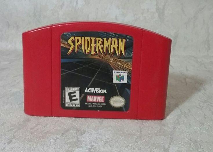 Spider-Man (Nintendo 64, 2000) #Nintendo