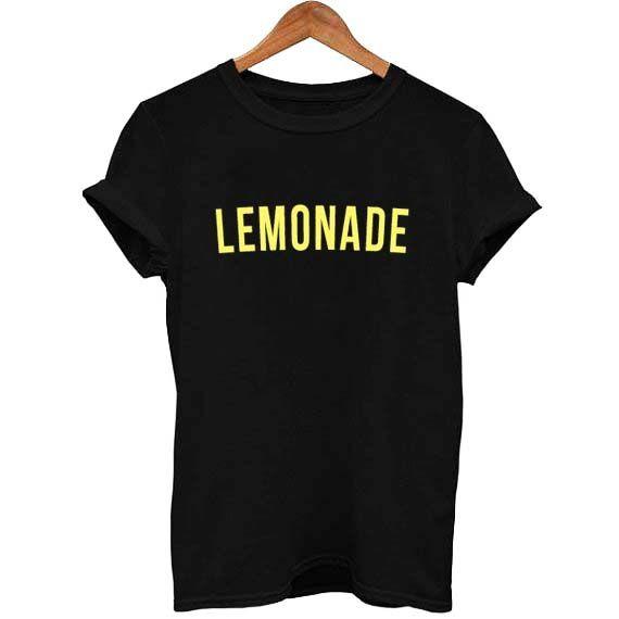 beyonce lemonade yellow font T Shirt Size S,M,L,XL,2XL,3XL