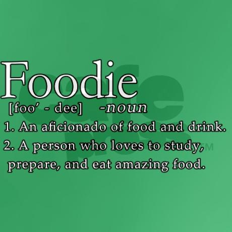 FOODIE...Workin on it =)