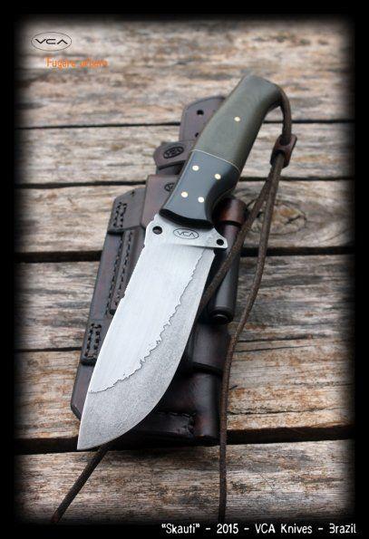 Skauti   VCA Knives Portfolio   VCA Custom Knives