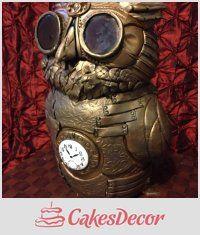 CakesDecor Theme: Owl Cakes - CakesDecor