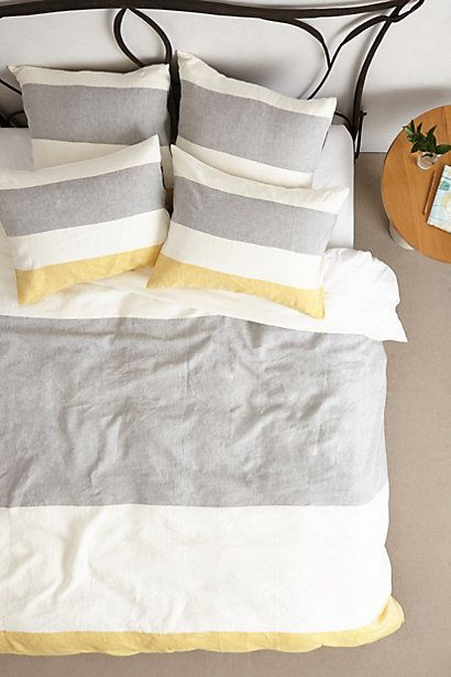 Elsee Linen Duvet - anthropologie.com #anthroregistry