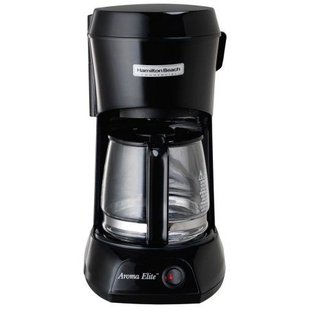 Commercial Coffee Maker 4 Cup, Black