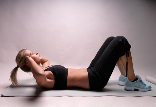 At Home Beginner Ab Routine.This workout is for beginners who want tight and toned abs!