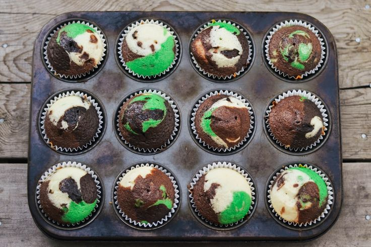 PS : ♡: tasty tuesday: camouflage cupcakes