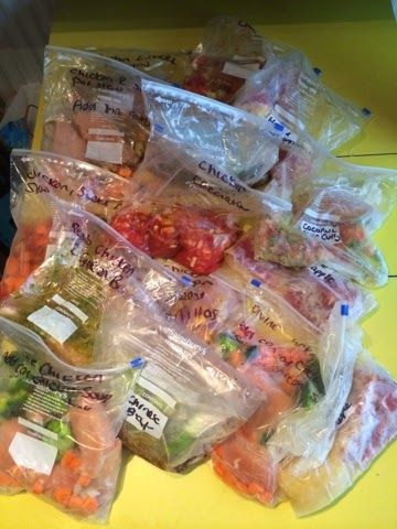 ♥KiesWorld ♥: Freezer meal time again! Slimming World friendly