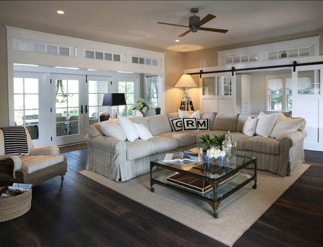 casual family room decorating ideas