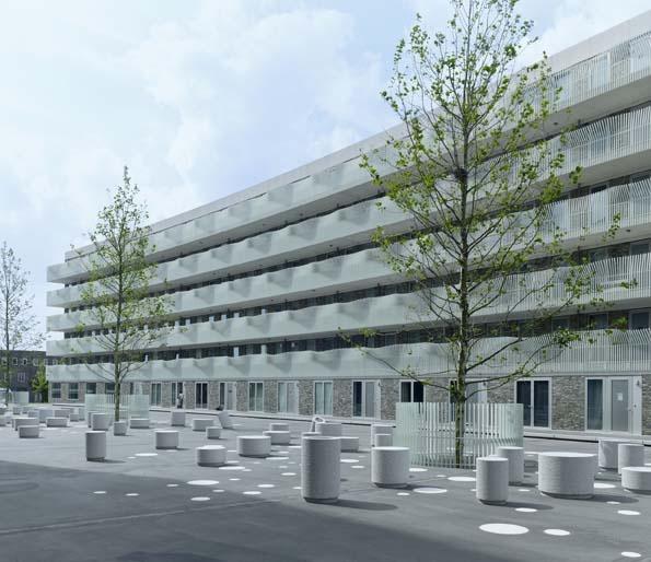 Housingblock 46c  Design: Korth Tielens Architecten  Commissioner: Ymere