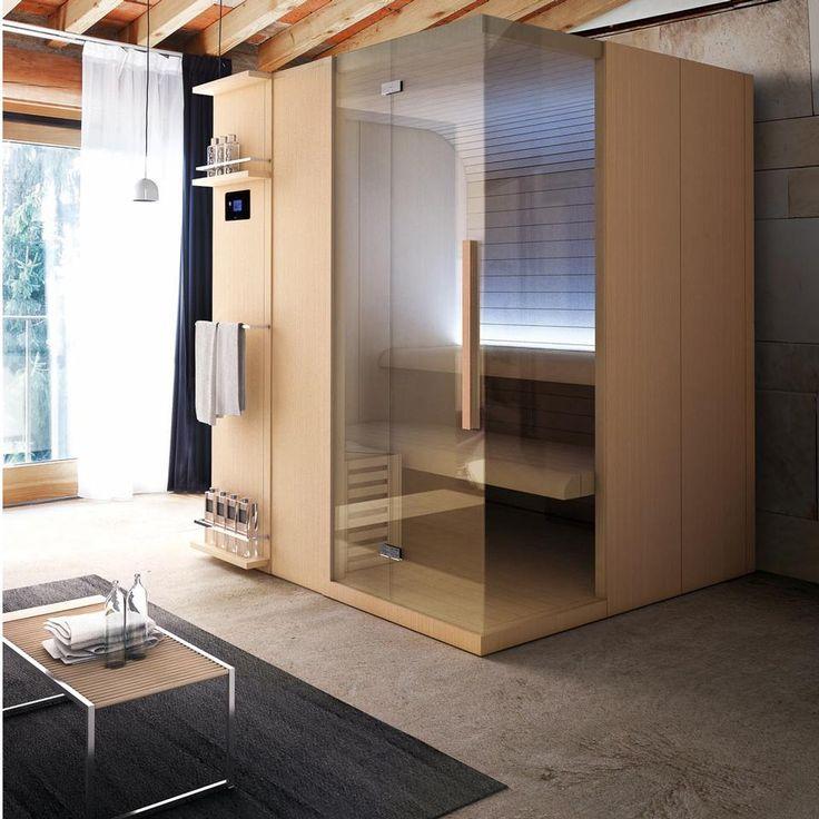 Cuna (Sauna Vita)  Azienda Hafro  Disegnato da Franco Bertoli  Inizio produzione 2011