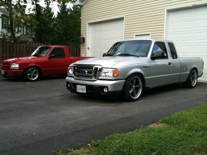 2010 Ranger lowered 4/5 on 18's 4000 miles :) - Ranger-Forums - The Ultimate Ford Ranger Resource