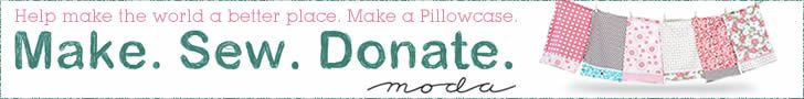 Pillowcases are donated to local charities. Cool!