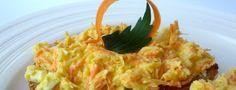 Zdravá celerovo-mrkvová pomazánka
