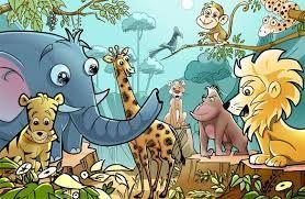 Hasil gambar untuk ilustrasi hewan