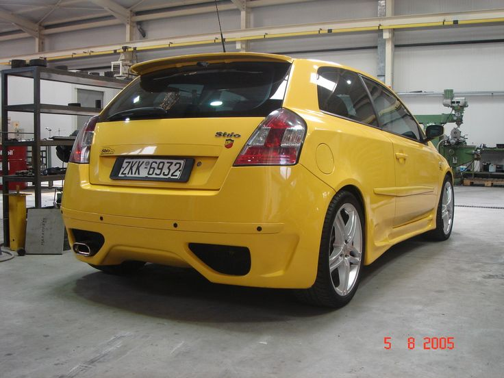 Hot Fast Cars | Hot Fast Cars 2002 Fiat Stilo