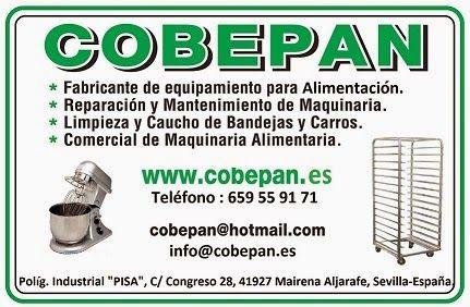 COBEPAN.ES maquinaria y accesorios para Panaderia y Pasteleria.: ver ó descargar CATALOGO COBEPAN