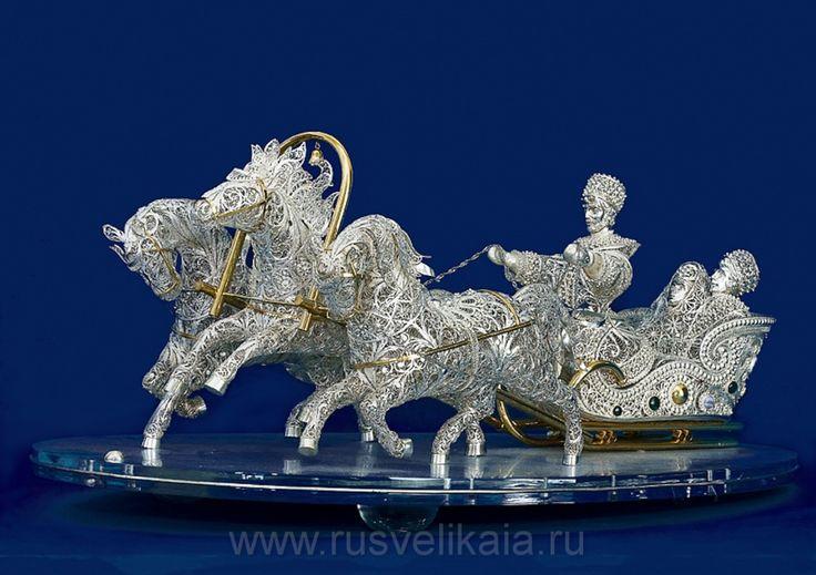 Чудеса серебряного кружева | Блог Дома Подарков «Русь Великая».