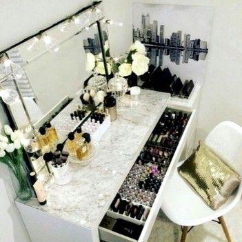 115 besten Schminktisch und Aufbewahrung von Kosmetik Bilder auf ...