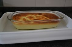 Citroen pudding cake