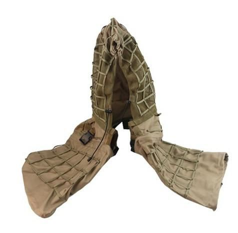 ROCOTACTICAL Army Sniper Coat Viper Hood Tactical Combat Sniper Suit Ghillie Suit Hood for Airsoft Paintball CP Multicam