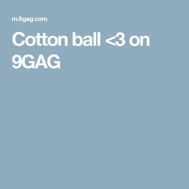 Cotton ball <3 on 9GAG