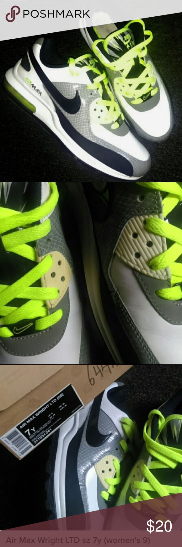eaf24b4d2b4a nike air max ltd 2 black black wht neon green