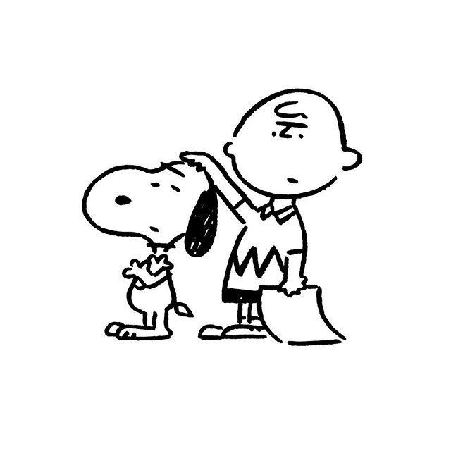 Snoopy & Charlie Brown. #snoopy #charliebrown #yunagaba #kaerusensei #長場雄