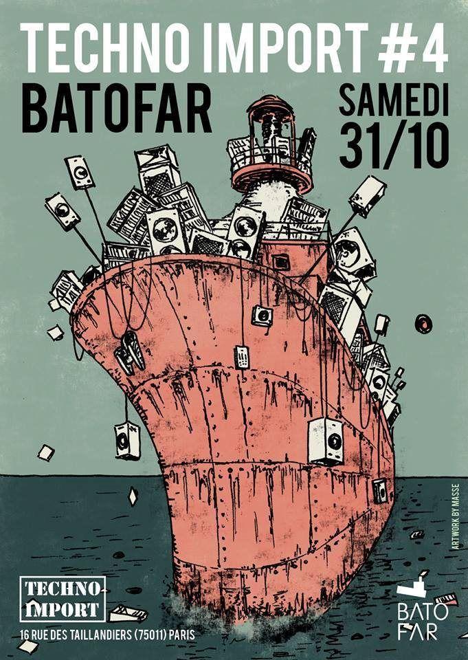 RA Tickets: Techno Import # 4 with Conforce at Batofar, Paris
