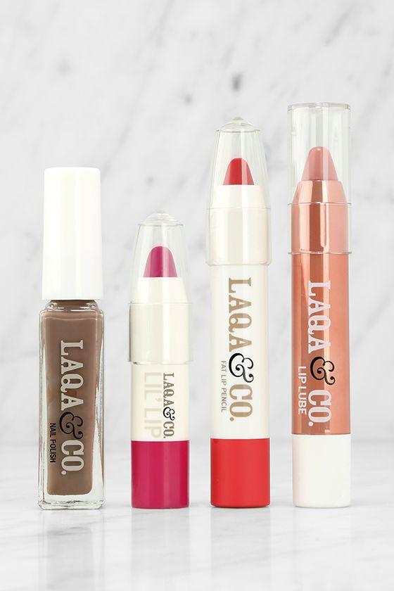 LAQA & Co. Box of Awesomeness Lip and Nail Gift Box
