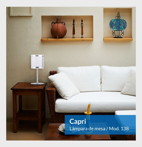 Lampara de mesa Capri Mod-138