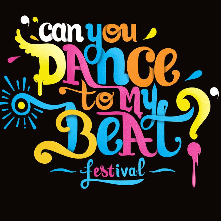 Can you dance to my beat? Type design