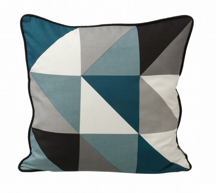 BLUE FITZROY CUSHION