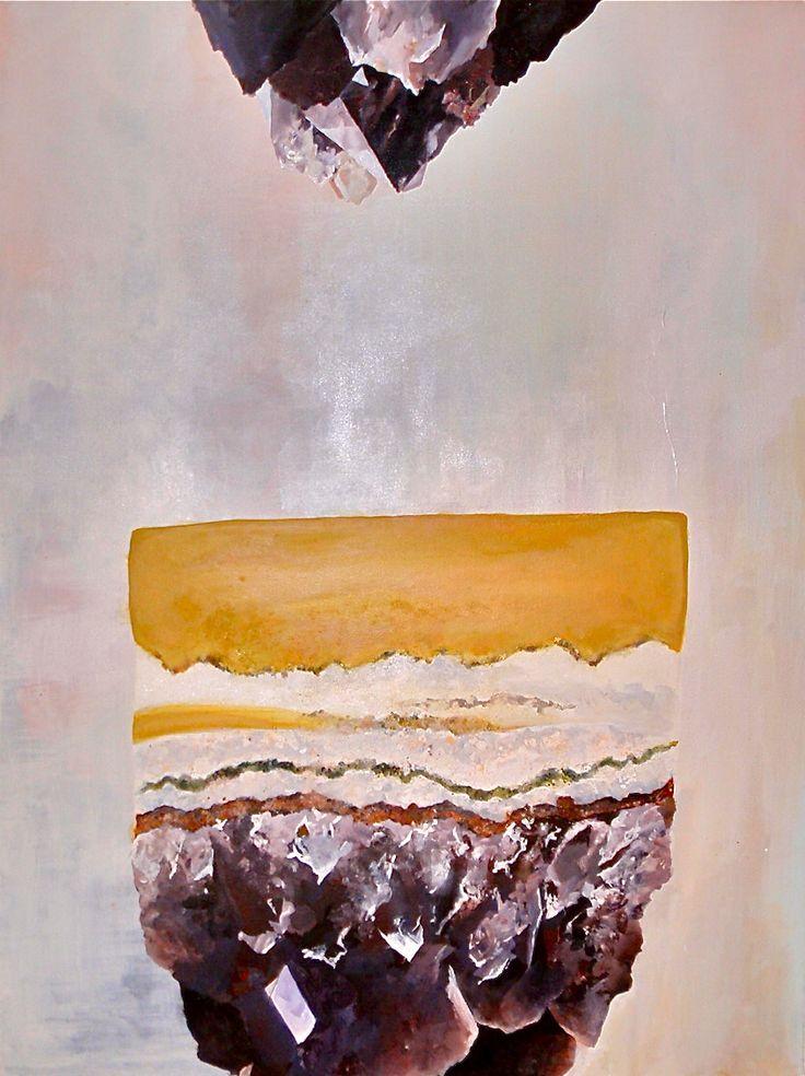 'Amethyst' // Ashley Opperman // Acrylic on canvas