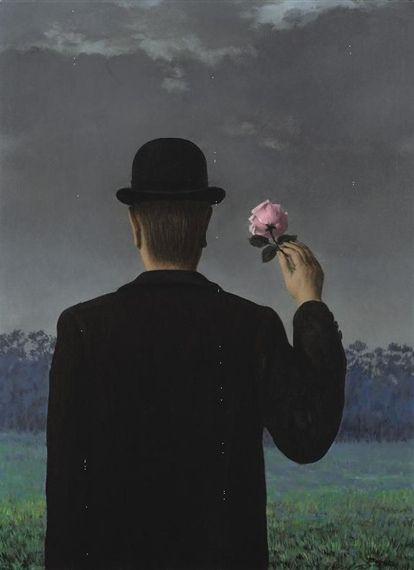 René Magritte (Belgium, 1898-1967): La Double Vue, 1957.