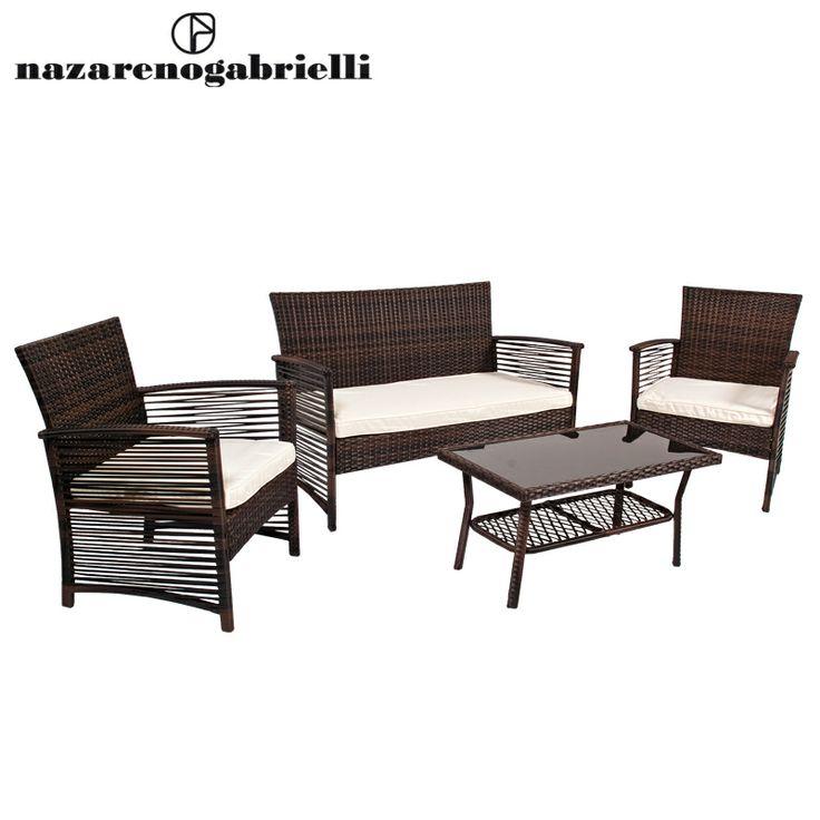Polyrattan Gartensessel Set : Best polyrattan sofa ideas on pinterest rattan