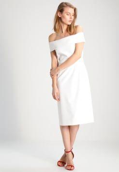 Witte lange jurk zalando