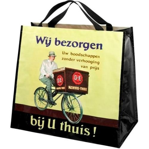 - Nostalgie tas D.E - Douwe Egberts &meer