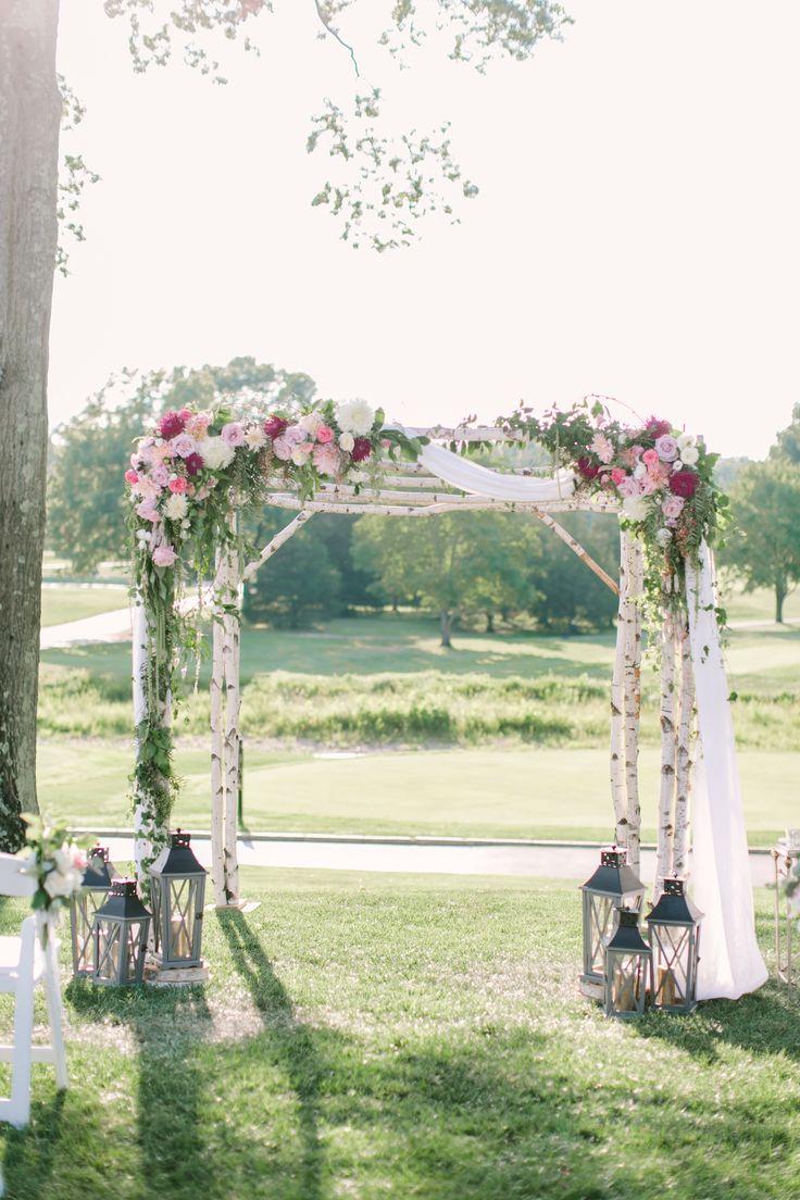 Romantic Blush + Lavender Summer Wedding