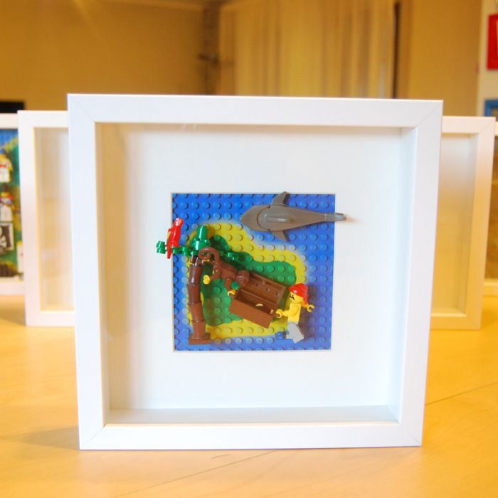 Quot Monkeying Around Quot Lego Pirate Framed Wall Art And Display