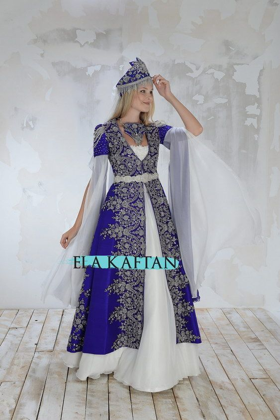 Mavi Kaftan 01