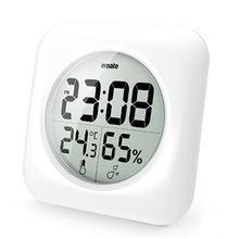 Emate Waterdichte LCD Digitale Tijd/Temperatuur/Vochtigheid Display Badkamer Keuken Muur Spiegel Zuignap Douche Klok Bureau Horloge(China (Mainland))