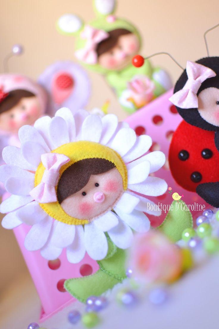 Atelier - Boutique D' Caroline: Babys do meu jardim pessoal