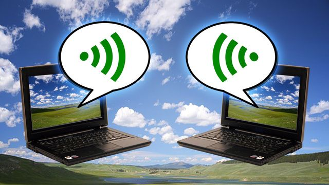 how to connect two computers using wifi router