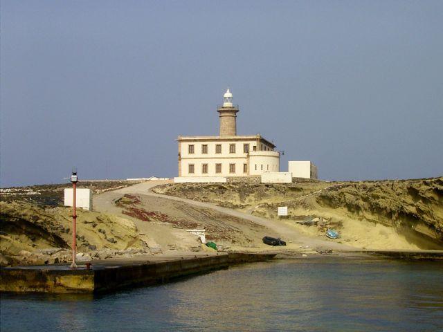 Faro de la Isla de Alborán