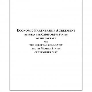 ECONOMIC PARTNERSHIP AGREEMENT BETWEEN THE CARIFORUM STATES OF THE ONE PART AND THE EUROPEAN COMMUNITY AND ITS MEMBER STATES OF THE OTHER PART   ANTIGUA A. http://slidehot.com/resources/cariforum-ec-economic-partnership-agreement-epa-text.19844/