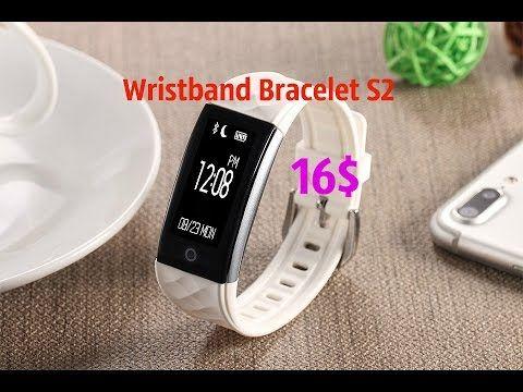 Lemfo S2 Wristband bracelet обзор умного браслета за 16$ - YouTube