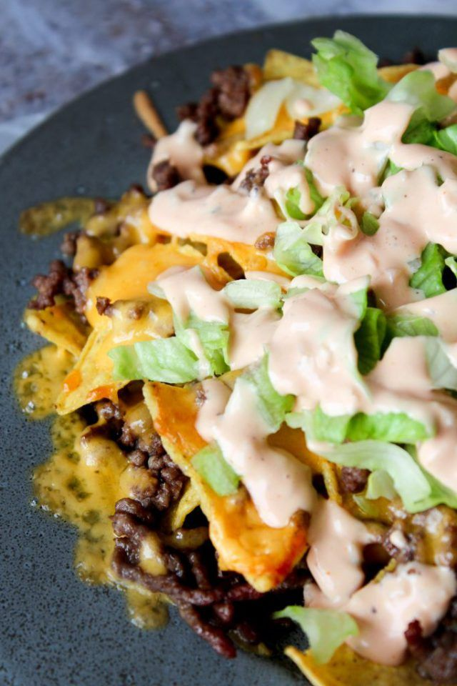 Anderledes og vildt lækre nachos!