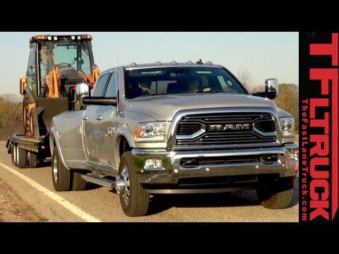 """Latest Dodge RAM – 2016 Ram 3500 Dually Review: Towing 30,000 Pounds with """"Only"""" 900 lb-ft Torque – 57479 Warner SD May 2018.   (  ) The 2016 Ram 3500 Cummins Dually is a big and powerful heavy duty truck. In fact it Ram boasts that it has the best in class towing..."""